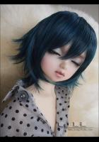 WIG D-4 Mix blue black